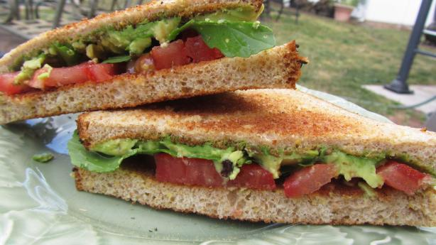 Avocado & Tomato Sandwiches With Lemon Myrtle & Pepperbe