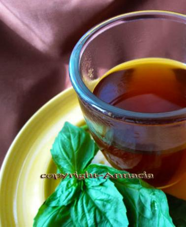 Basil Tea Recipe from India