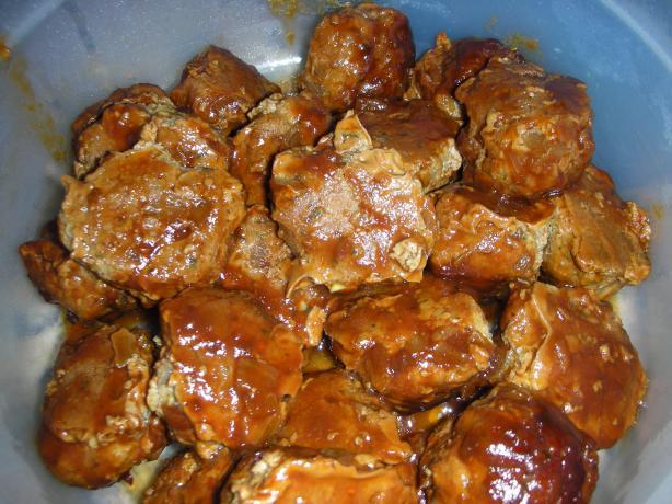 Australian BBQ Meatballs