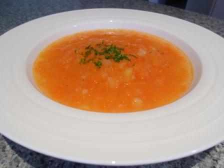 Sopa De Cenoura - Carrot Soup - Portugal