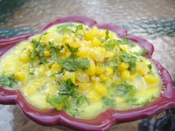 Corn in Yogurt