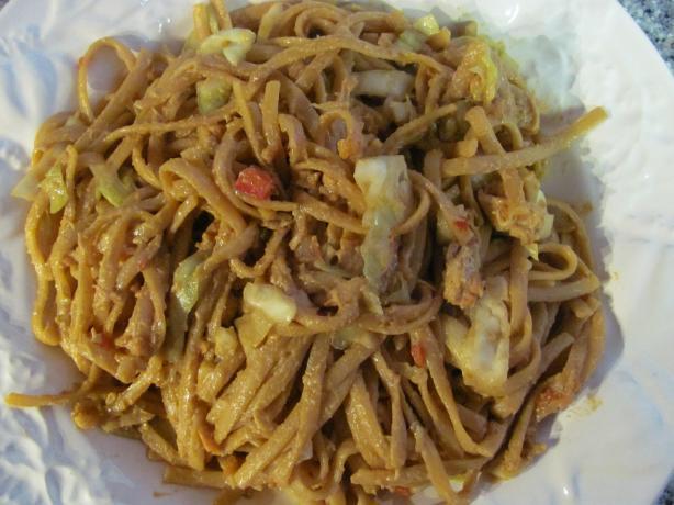 My Oriental Oriental Peanut Salad