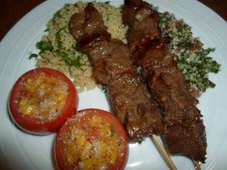 Spiced Beef Kebabs - New Zealnd