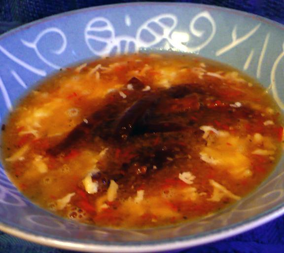 Tortilla Soup ( Sopa De Tortilla)