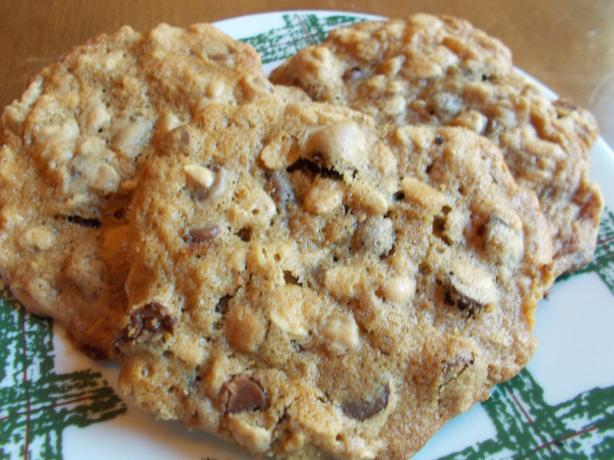 Soft Chocolate Oatmeal Cookies