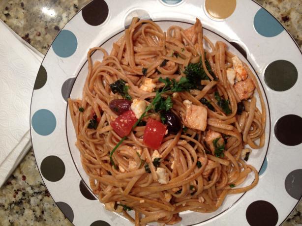 Earl's Mediterranean Linguini