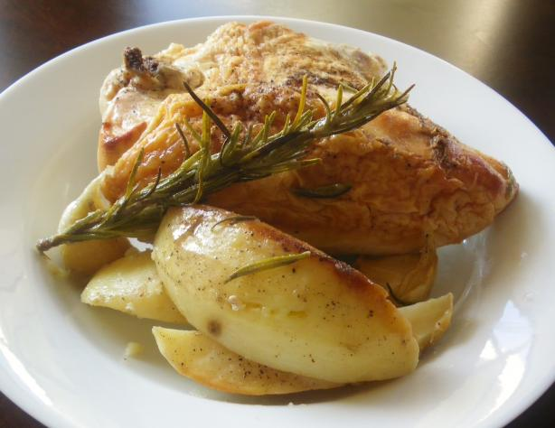 Frango à Moda Do Alentejana (Chicken With Potatoes and Ga