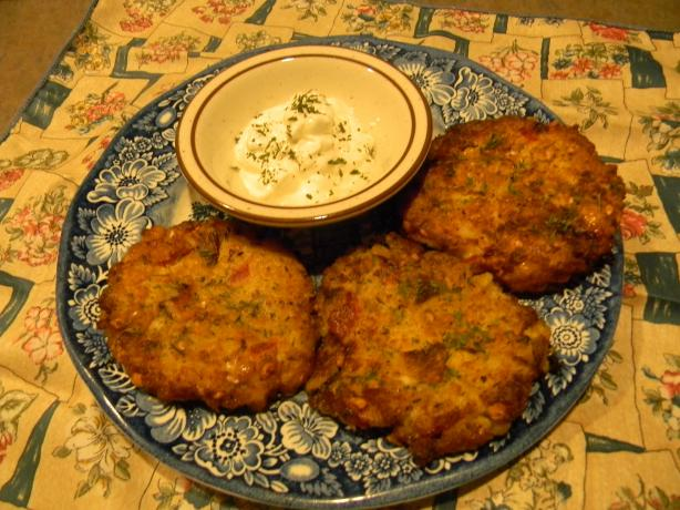 Peanut-Potato Cakes