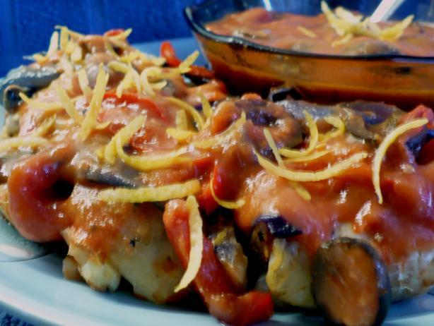 Baked Cod Spanish Style
