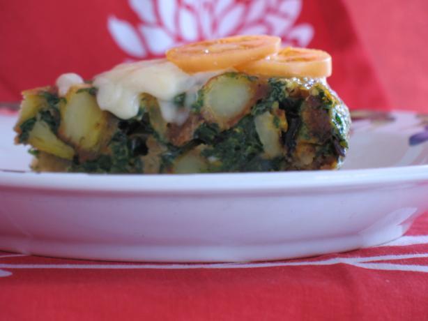 Tortilla De Espinaca
