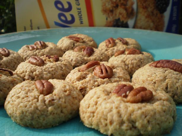 Pecan Weet-Bix Cookies
