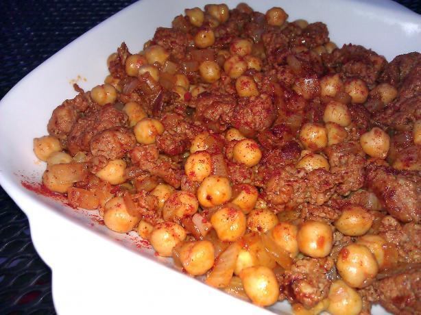 Chickpeas With Chorizo