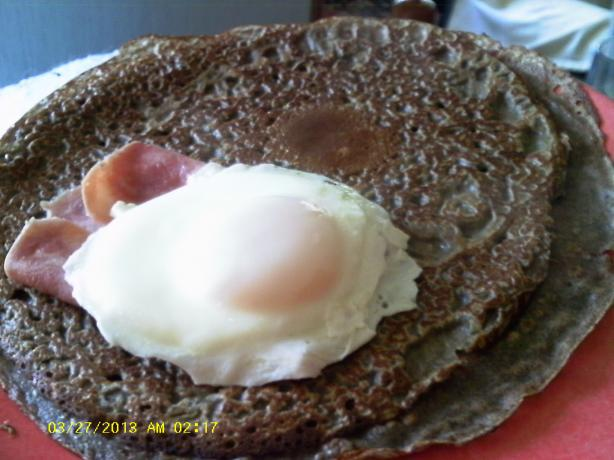 Buckwheat Galettes(Crepes)