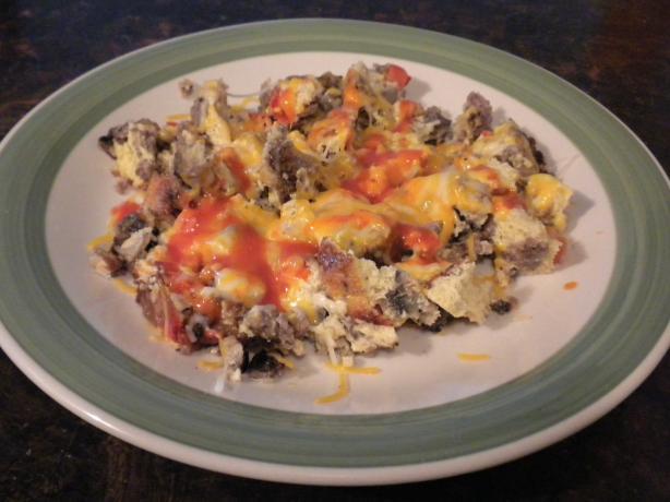 Baked Egg Omelet