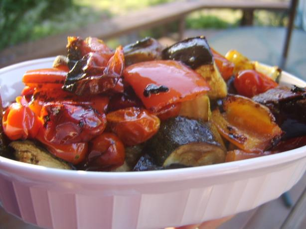 BBQ Vegetables - Aussie Style