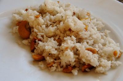 Bai Krob Chanti (Cinnamon Cashew Rice) (Cambodia)