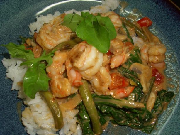 Prawn and Green Bean Masala