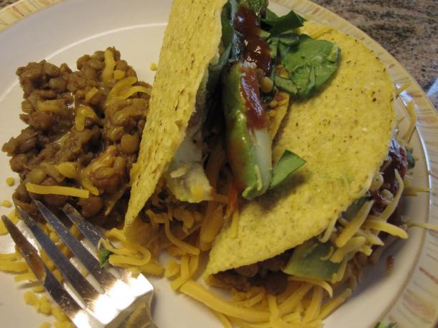Delicious Lentil Taco Mix
