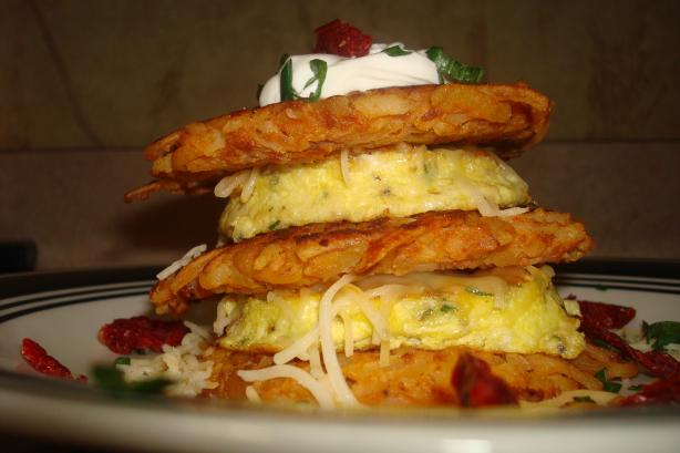 Potato Pancake Stacker