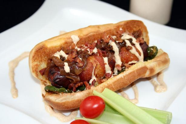 The Rico - Bacon Wrapped Hot Dog