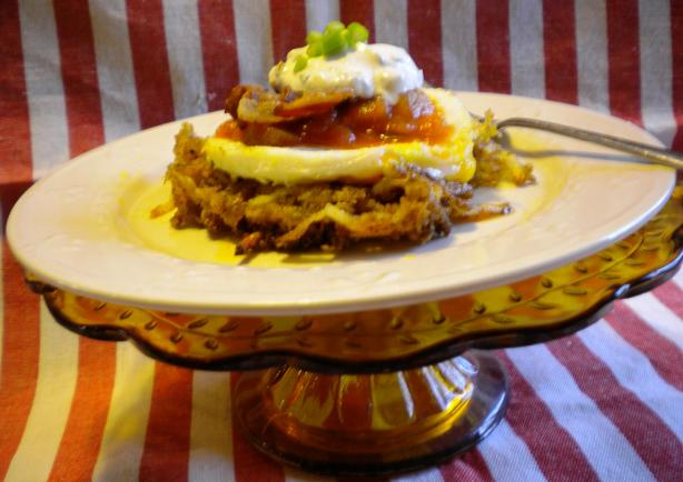 Breakfast Tex Mex Haystacks