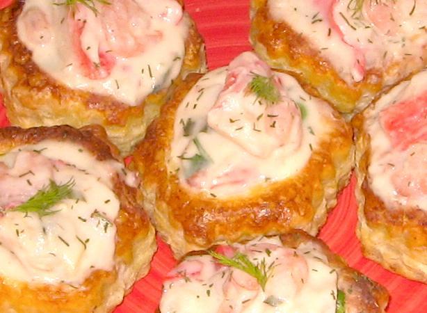 Creamy Seafood a La King