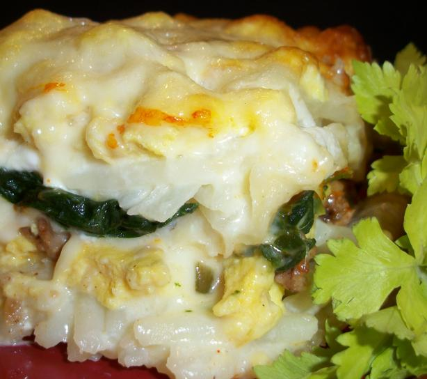 Simply Breakfast Lasagna
