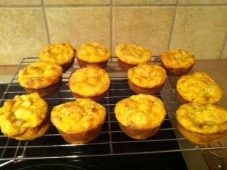 Mango-Buttermilk-Pecan Muffins