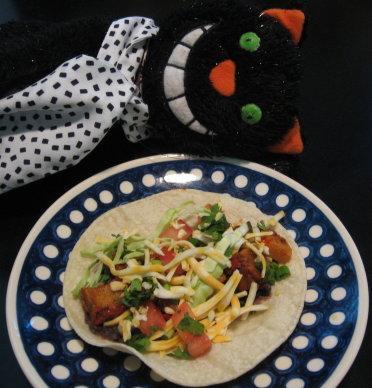 Simple Potato Tacos (Vegetarian)