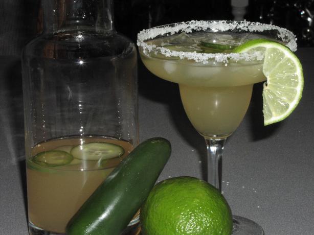 Jalapeno-Cucumber Margaritas