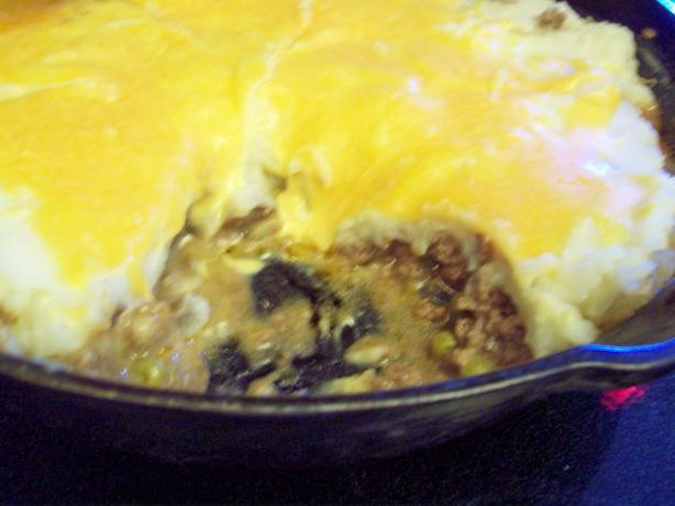 Skillet Shepherd's Pie