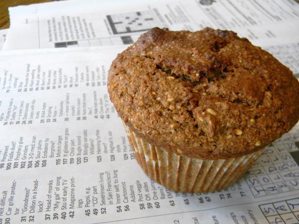 Citrusy Bran - Kiwi Muffins
