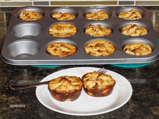 Mashed Potato Puffs With a Twist
