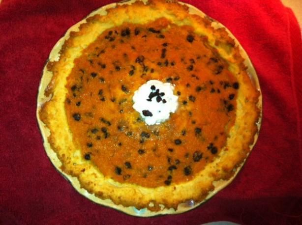 Spiced Carrot Pie