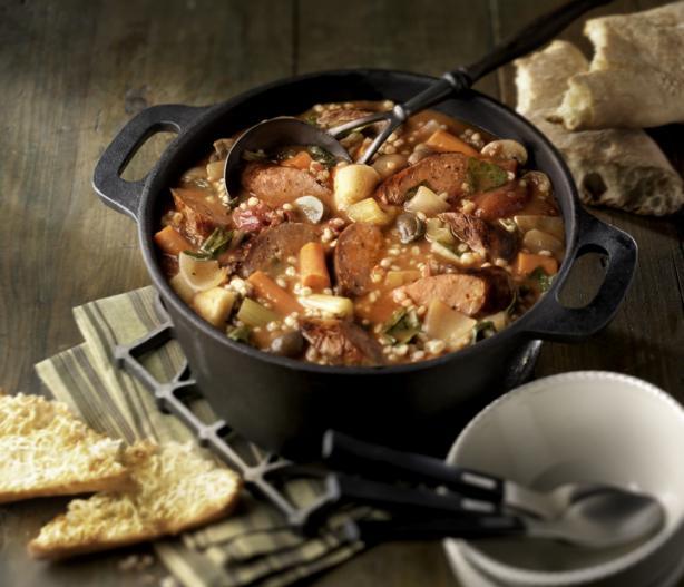 Braised Italian Sausage Stew