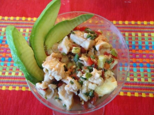 Ceviche - Fish And/Or Shrimp