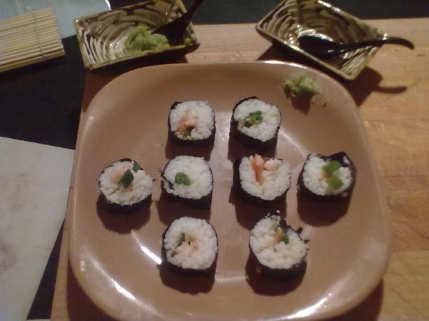 Sushi..easy Homemade Style