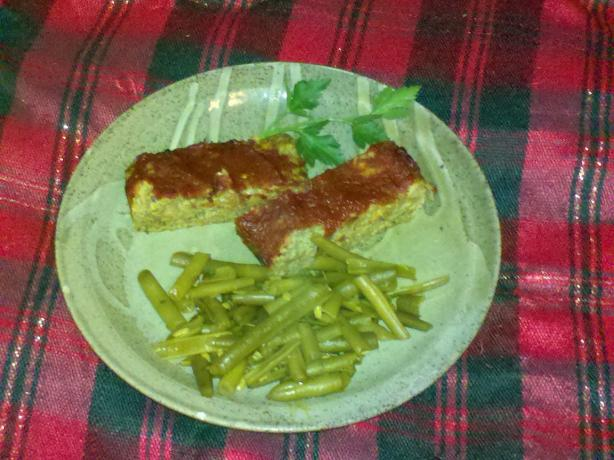 Vegetarian Gluten-Free Meat Loaf Comfort Food