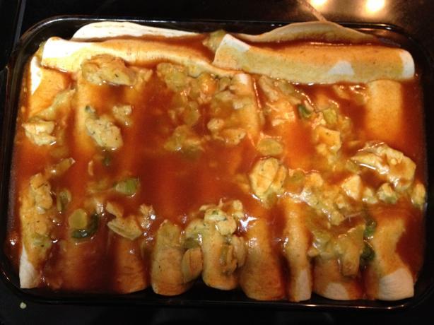 Pantry Raid Enchiladas