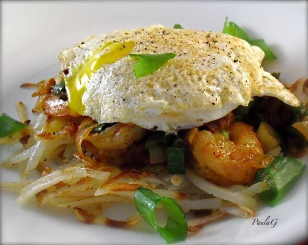 Creole Breakfast Stack