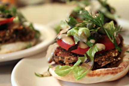 Nommy Falafel Burgers