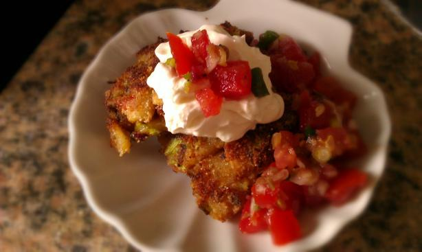 Smashed Potato Pancakes