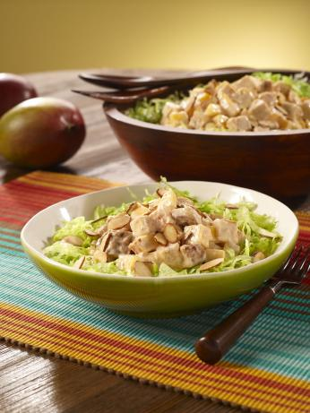 Chipotle Chicken Mango Salad