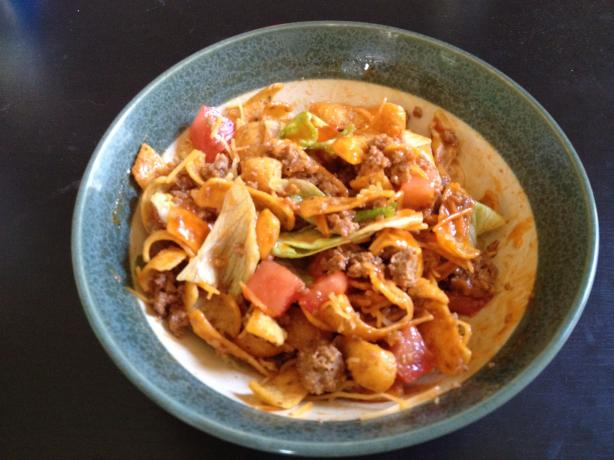 Corn Chip Taco Salad