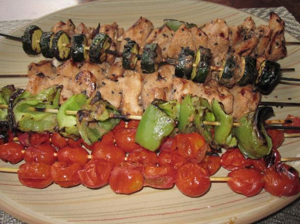 Sesame Chicken Kabobs