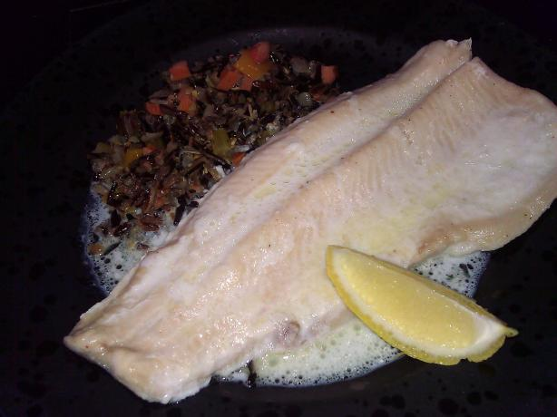 Trout Baked in Milk