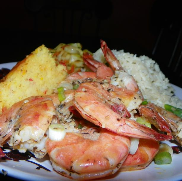 Jamaican Pepper Shrimp
