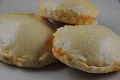 Pukacapas - Spicy Cheese Empanadas (Bolivia)