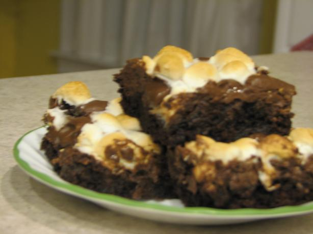 Muddy Road Brownies (Rocky Road Without the Walnuts)