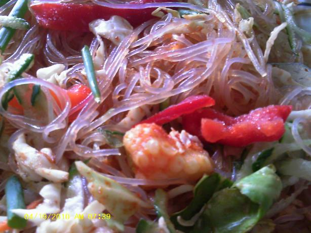 Inside out Spring Roll Salad